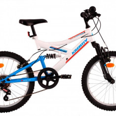 Bicicleta Copii Kreativ 2041 Cadru Otel Alb 20