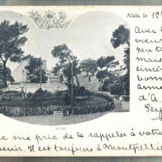 AD 361 C. P. VECHE - LE FORT -FRANTA -CIRCULATA 1900, LA BUCURESTI, STR. DREAPTA