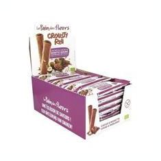 Rulou Crocant Cacao si Alune Bio Le Pain Des Fleurs 25gr Cod: 3380380077470