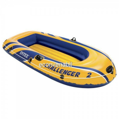 Barca gonflabila Intex Challenger 2 68366NP 2 persoane foto