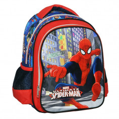 Ghiozdan 3D Spiderman, 30 cm, Multicolor
