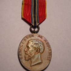 Medalia Jubiliara Carol I 1866 1906 pentru Civili Piesa de Colectie