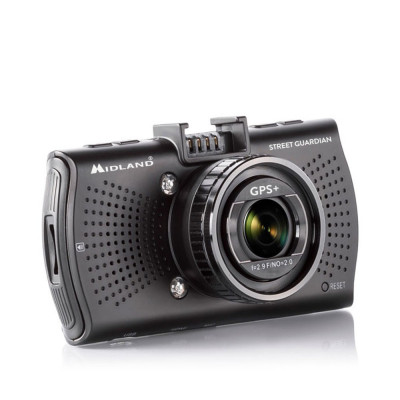 Resigilat : DVR auto Midland Street Guardian GPS+ cod C1284.01 foto
