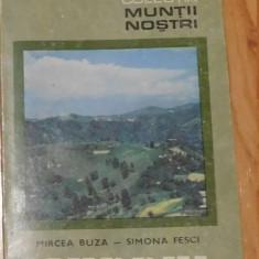 Cindrel de Mircea Buza, Simona Fesci. Colectia Muntii Nostri