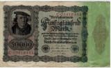 Bancnote Germania-50 000 marci 1922