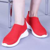 Pantofi sport dama Luiza rosii