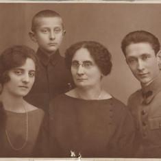 Ofiter roman Bucuresti primul razboi mondial fotografie veche