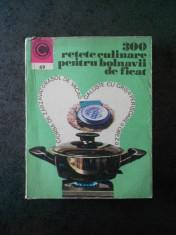 300 RETETE CULINARE PENTRU BOLNAVII DE FICAT foto