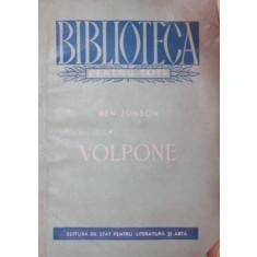 VOLPONE - BEN JONSON