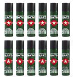 Set 12 sprayuri autoaparare NATO, propulsie jet, 60 ml