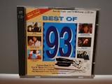 BEST OF '93 - Selectii - 2CD Set (1993/EMI/GERMANY) -CD ORIGINAL/ca Nou, emi records