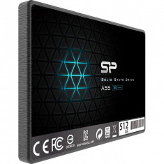"Solid State Drive (SSD) Silicon Power A55, 512GB, 2.5"", 7mm, SATA III"