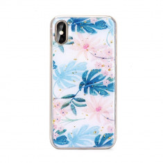 Carcasa Forcell Marble Xiaomi Redmi 7 Palm Leaves