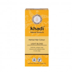 Henna Blond Deschis Vopsea de Par Khadi