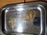 Set de tavi placate cu Aur 14k și argint cu modelele set de 7 tavi, Tava
