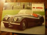 Ilustrate - Automobile de Colectie - Auto 100 - Jaguar 1949 cu timbru Tuvalu