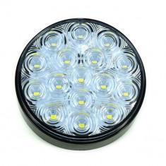 Lampa rotunda cu led SMD 6004-3 Lumina alba 12v-24V Rezistenta la apa: IP66