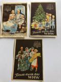 WINTERHILFSWERK 1937-1938 serie 3 buc., Europa, Documente