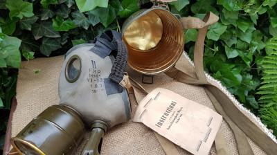 Masca de gaze romaneasca WW2 foto