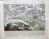 Batalia de la Harsova, 8 Iulie 1791 - Gravura colorata