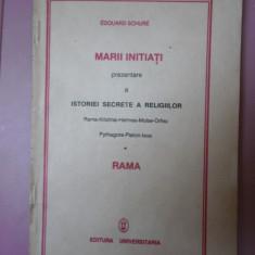 Marii initiati-istoria secreta a religiilor-Edouard Schure -Ed.Universitaria