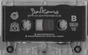 Caseta Sfinx Experience – Balkano, originala, holograma