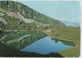 CPI B 11602 CARTE POSTALA - MUNTII RETEZAT. LACUL GEMENEA, Circulata, Fotografie