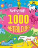 Activitati cu 1000 de abtibilduri - Cai/***