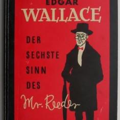 Der sechste Sinn des Mr. Reeder – Edgar Wallace