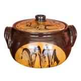 Oala ceramica, lut, 5.5l, 016339,