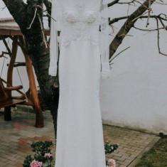 Rochie de mireasa sirena, marime 36, Rochii de mireasa sirena, Julimex