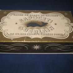 4327-I-Cutie veche colectie: Sapoceti Guerlain pentru sapun din carton.
