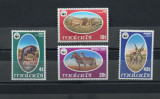 MALAWI 1978 FAUNA PROTEJATA WWF ANIMALE SALBATICE COTA MICHEL 50 EURO, Nestampilat