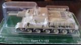 MACHETA DIN METAL TANC RUSESC SU 122 (1942) DIN REVISTA TANCURI RUSESTI