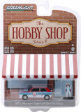Cumpara ieftin Macheta Greenlight, The Hobby Shop Series 8 - 1975 Volkswagen Rabbit Widebody with Race Car Driver Solid Pack 1:64