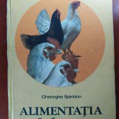 ALIMENTAȚIA PĂSĂRILOR de GH. SPIRIDON