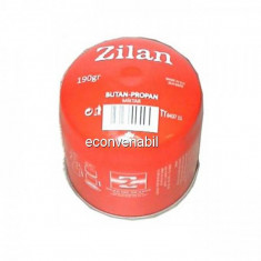 Minibutelie gaz aragaz camping 190gr unica folosinta Zilan