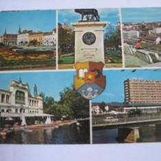 Carte postala - Cluj Napoca (mozaic), Circulata, Fotografie