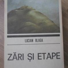 ZARI SI ETAPE - LUCIAN BLAGA
