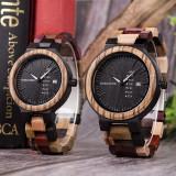Cumpara ieftin Set ceasuri din lemn pentru cupluri, Bobo Bird P14