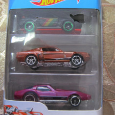 Set masinute Hot wheels 3,noi