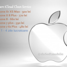 Decodare - Eliminare cont iCloud iPhone - CLEAN - XR XS XS Max