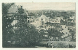cp Baile Ocna - Sibiului - circulata 1924, timbre