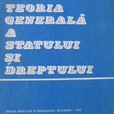 Teoria generala a statului si dreptului - Gheorghe Bobos