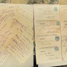 A586-I-Filatelie-Lot 8 Carti Postale vechi Firma Amme,Giesecke&Konegen Germania.