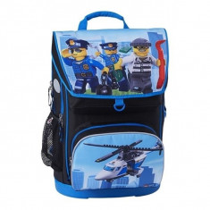 Ghiozdan scoala Maxi + sac sport, LEGO Core Line - City Police Chopper