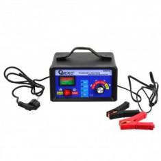Redresor automat Geko G80019, 6/12V, incarcare 2/10A, functie Jump Start 55 A