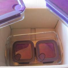 Set 7 caserole din sticla Glasslock