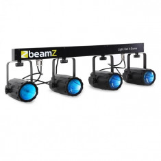 Beamz 4-Some, set de iluminat, 5 părți, cu LED-uri