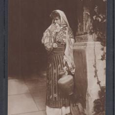 CASA  REGALA  ROMANA  REGINA  MARIA   A  ROMANIEI  IN COSTUM NATIONAL ROMANESC